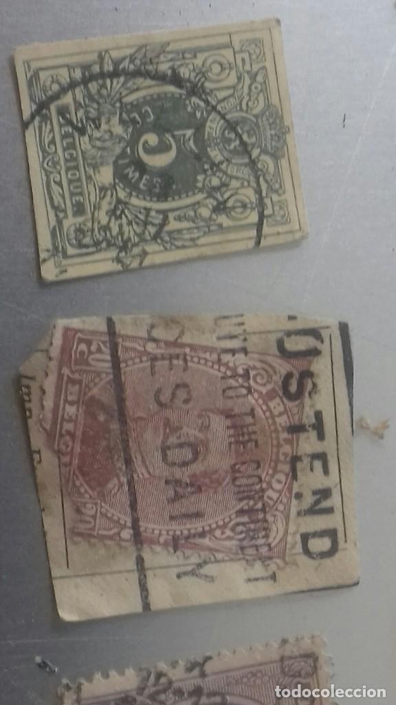 Sellos: LOTE 50 SELLOS BELGICA. MUY ANTIGUOS DE 1890 A 1930. USADOS . VER FOTOS - Foto 11 - 128711787