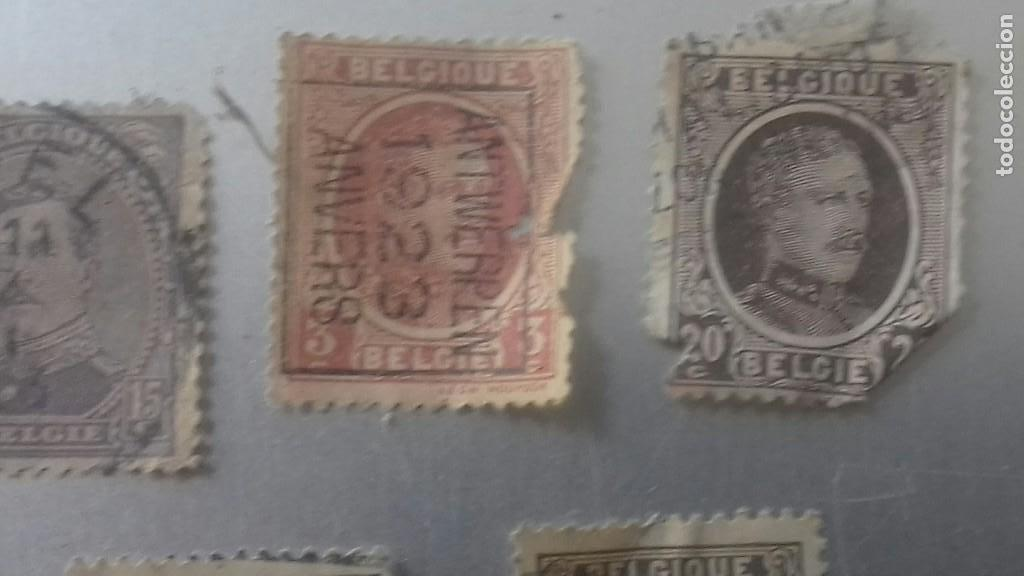 Sellos: LOTE 50 SELLOS BELGICA. MUY ANTIGUOS DE 1890 A 1930. USADOS . VER FOTOS - Foto 12 - 128711787