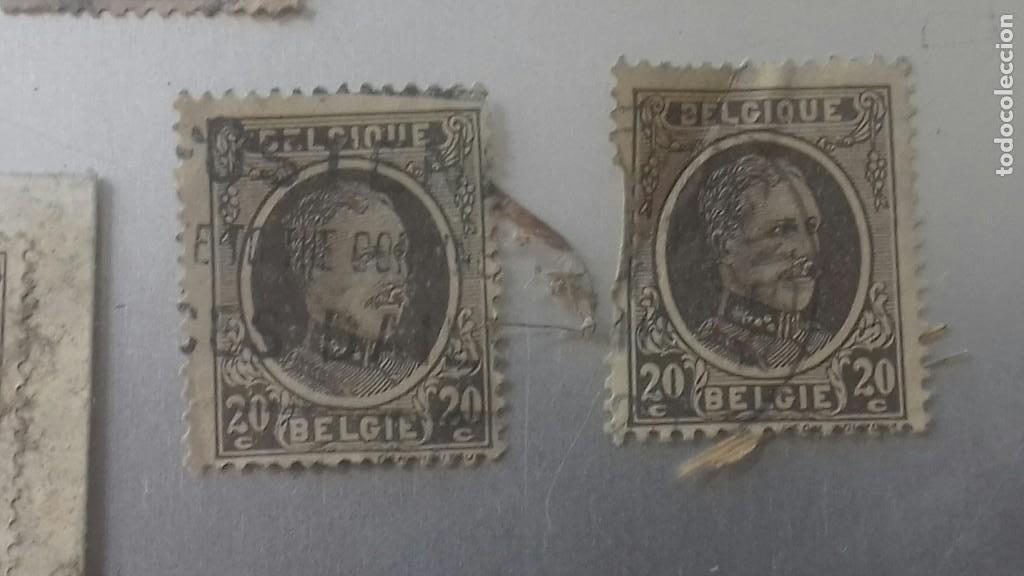 Sellos: LOTE 50 SELLOS BELGICA. MUY ANTIGUOS DE 1890 A 1930. USADOS . VER FOTOS - Foto 13 - 128711787