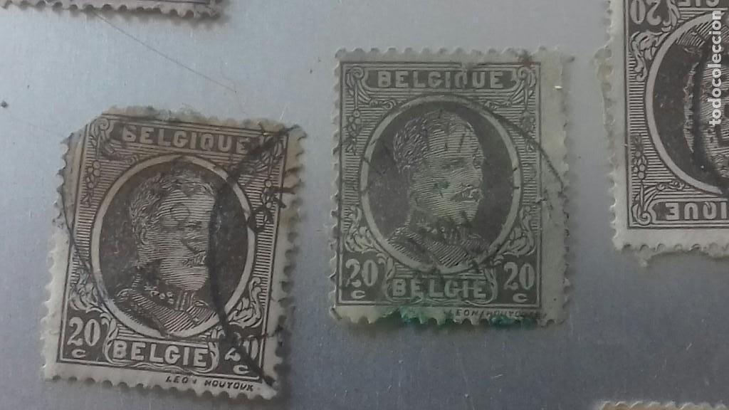 Sellos: LOTE 50 SELLOS BELGICA. MUY ANTIGUOS DE 1890 A 1930. USADOS . VER FOTOS - Foto 18 - 128711787