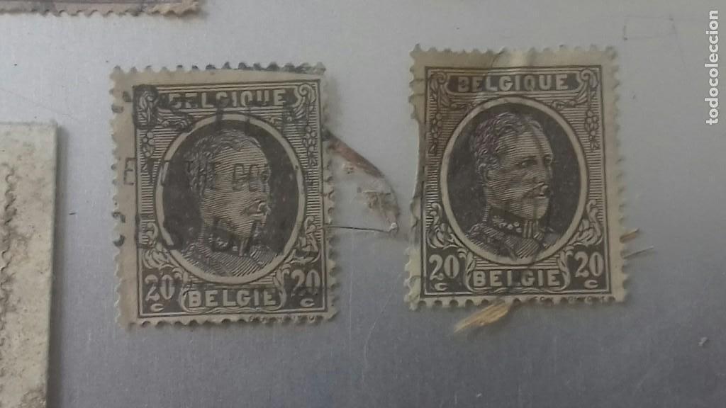 Sellos: LOTE 50 SELLOS BELGICA. MUY ANTIGUOS DE 1890 A 1930. USADOS . VER FOTOS - Foto 19 - 128711787