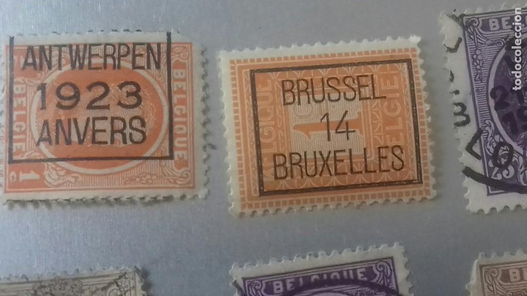 LOTE 50 SELLOS BELGICA. MUY ANTIGUOS DE 1890 A 1930. USADOS . VER FOTOS (Sellos - Extranjero - Europa - Bélgica)
