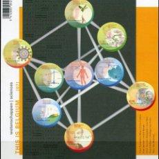 Sellos: SELLOS BELGICA 2007 THIS IS BELGIUM CIENCIA FACIAL 6,30 EUROS. Lote 134048238