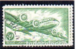 BÉLGICA. SELLO CORREO AÉREO, AÑO 1946, EN USADO (Sellos - Extranjero - Europa - Bélgica)