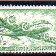 Sellos: BÉLGICA. SELLO CORREO AÉREO, AÑO 1946, EN USADO. Lote 135217753