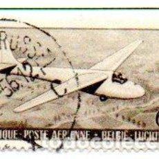 Sellos: BÉLGICA. SELLO CORREO AÉREO, AÑO 1951, EN USADO. Lote 134900954