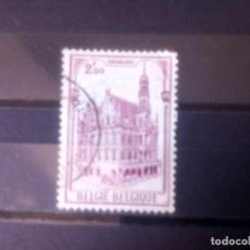 Sellos: BÉLGICA 1959, AYUNTAMIENTO DE AUDERNARDE. Lote 135412706
