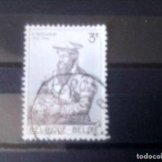 Sellos: BÉLGICA 1962, GÉRARD MERCADOR . Lote 135412822