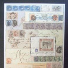 Sellos: BELGICA Nº YVERT HB 135*** AÑO 2009. PROMOCION DE LA FILATELIA BELGA. Lote 137363598