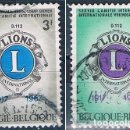 Sellos: BELGICA 1967 SELLO USADO YVES SERIE 1404/1405. Lote 144590050