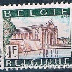 Timbres: BELGICA 1967 SELLO USADO YVES 1424. Lote 144590062