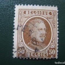 Sellos: BELGICA, 1921, ALBERTO I, YVERT 203. Lote 147592142
