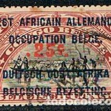 Sellos: OCUPACIÓN BELGA DEL AFRICA OCCIDENTAL ALEMANA Nº 36, USADO. Lote 148946870
