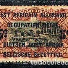 Sellos: OCUPACIÓN BELGA DEL AFRICA OCCIDENTAL ALEMANA Nº 34, USADO. Lote 148947518