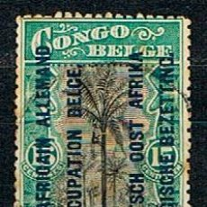 Sellos: OCUPACIÓN BELGA DEL AFRICA OCCIDENTAL ALEMANA Nº 19, USADO. Lote 148948486
