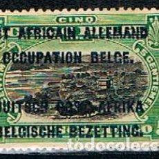 Sellos: OCUPACIÓN BELGA DEL AFRICA OCCIDENTAL ALEMANA Nº 17, NUEVO CON SEÑAL DE CHARNELA. Lote 148949374
