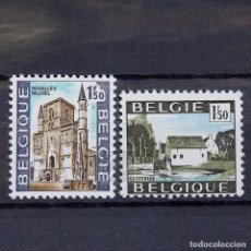 Sellos: BÉLGICA 1970 ~ TURISMO ~ SERIE NUEVA MNH LUJO. Lote 149636154