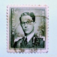 Sellos: SELLO POSTAL BELGICA 1953, 1,50 F, REY BAUDOUIN I , USADO. Lote 150183906