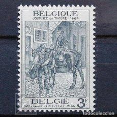 Sellos: BÉLGICA 1964 ~ DÍA DEL SELLO ~ SELLO NUEVO MNH BUENO. Lote 150292734