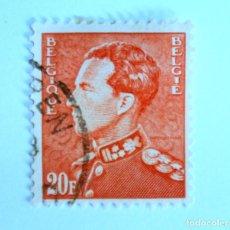 Sellos: SELLO POSTAL BELGICA 1951 , 20 FR, REY LEOPOLD III, USADO. Lote 150297382