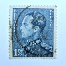 Sellos: SELLO POSTAL BELGICA 1936 , 1,75 FR, REY LEOPOLD III , USADO. Lote 150303818