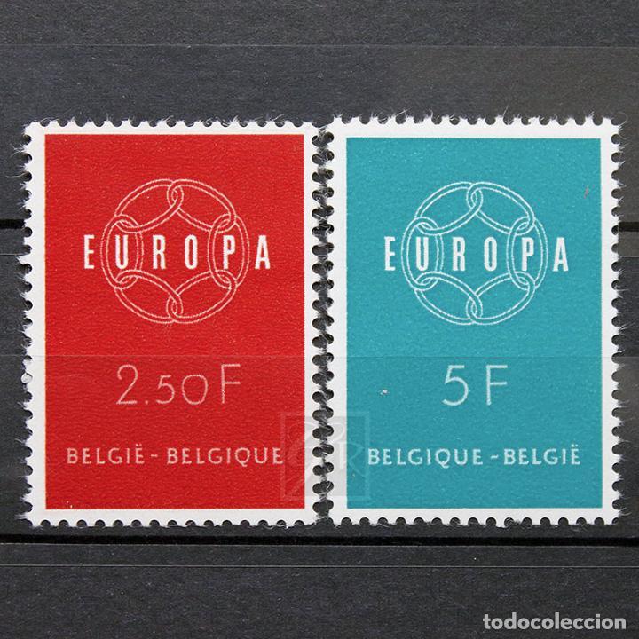 BÉLGICA 1959 ** NUEVO ** MNH ** EUROPA (Sellos - Extranjero - Europa - Bélgica)