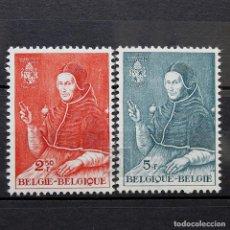 Sellos: BÉLGICA 1959 ~ ADRIANUS VI ~ SERIE NUEVA MNH LUJO. Lote 150827434