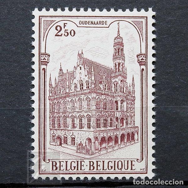 BÉLGICA 1959 ** NUEVO ** MNH ** AYUNTAMIENTO DE OUDENAARDE (Sellos - Extranjero - Europa - Bélgica)