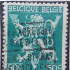 Sellos: SELLO POSTES BELGICA, 50 C, AÑO 1950, NO USADO. Lote 151152598
