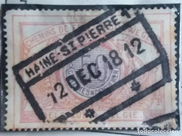 SELLO, POSTES BELGICA, 50 CENTIMES, AÑO 1925, NO USADO (Sellos - Extranjero - Europa - Bélgica)