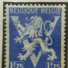Sellos: SELLO, POSTES BELGICA, 1,75 FR, AÑO1944, NO USADO. Lote 151431610