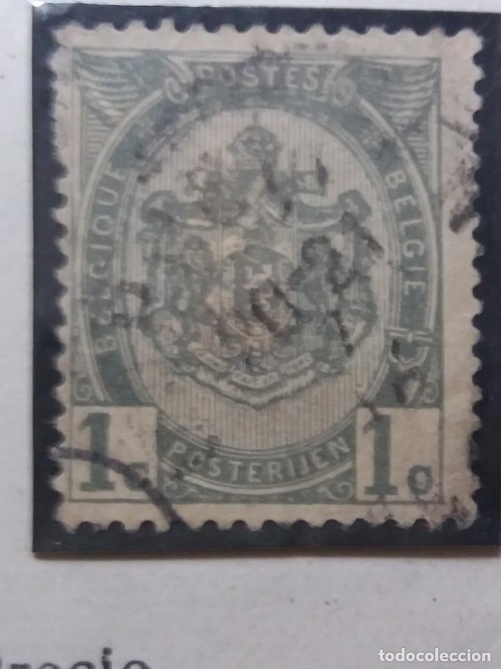 SELLO, POSTES BELGICA, 1 CENTIME, AÑO1898, NO USADO (Sellos - Extranjero - Europa - Bélgica)