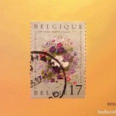 Sellos: BELGICA - FLORA - FLORES - DUMONT D´ANNICK.. Lote 151432430