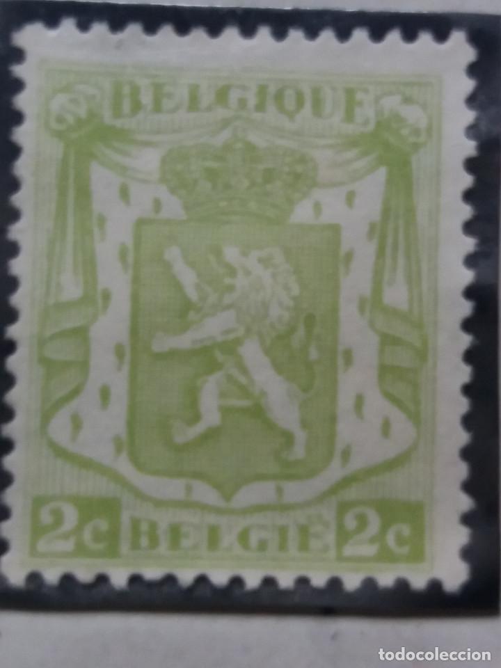 SELLO, POSTES BELGICA, 2 CENTIMES, AÑO1939, NO USADO (Sellos - Extranjero - Europa - Bélgica)