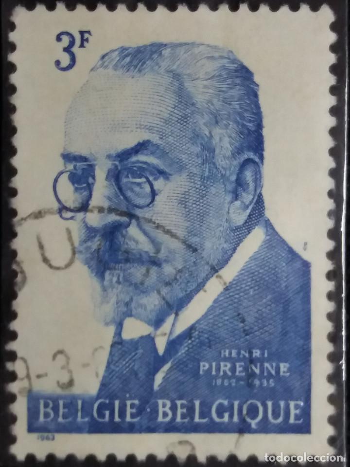 SELLO, POSTES BELGICA, 3 FR, AÑO 1935, NO USADO (Sellos - Extranjero - Europa - Bélgica)