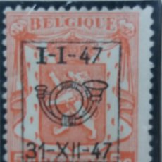 Sellos: SELLO, POSTES BELGICA, 5 CENTIMES, SOBREESCRITO, AÑO 1947, NO USADO. Lote 151441298