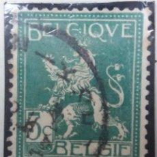 Sellos: SELLO, POSTES BELGICA, 5 CENTIMES, SOBREESCRITO, AÑO 1947, NO USADO. Lote 151441494
