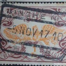 Sellos: SELLO, POSTES BELGICA, 1 FR, AÑO 1902, NO USADO. Lote 151314986