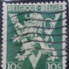 Sellos: 10 SELLOS, POSTES BELGICA, 10 CENTIMES, AÑO 1940, NO USADO. Lote 151526446