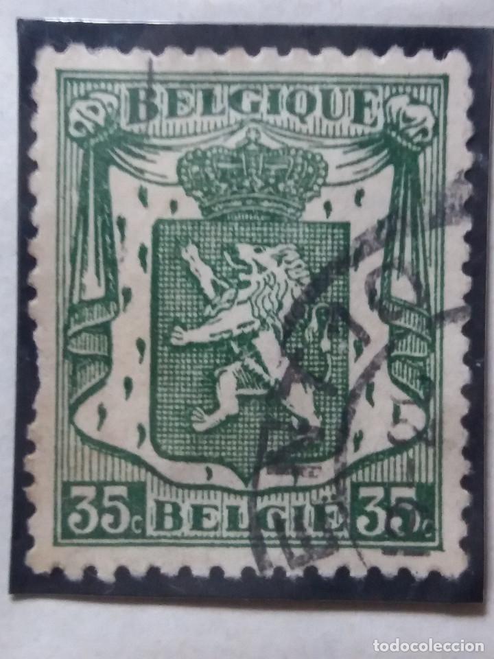 SELLO, POSTES BELGICA, 35 CENTIMES, AÑO 1940, NO USADO (Sellos - Extranjero - Europa - Bélgica)