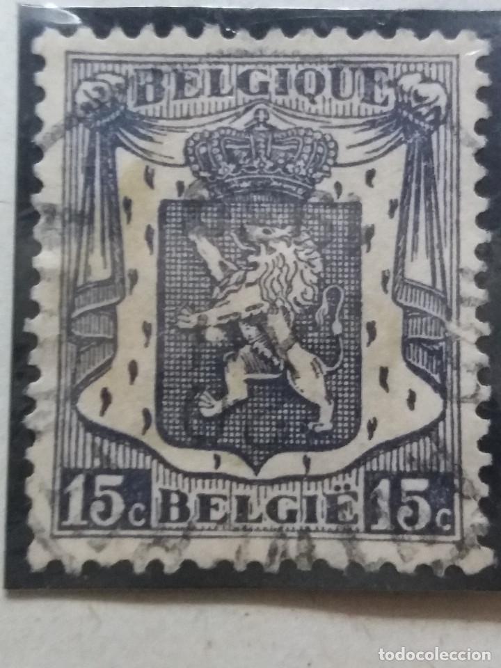 SELLO, POSTES BELGICA, 15 CENTIMES, AÑO 1936 NO USADO (Sellos - Extranjero - Europa - Bélgica)