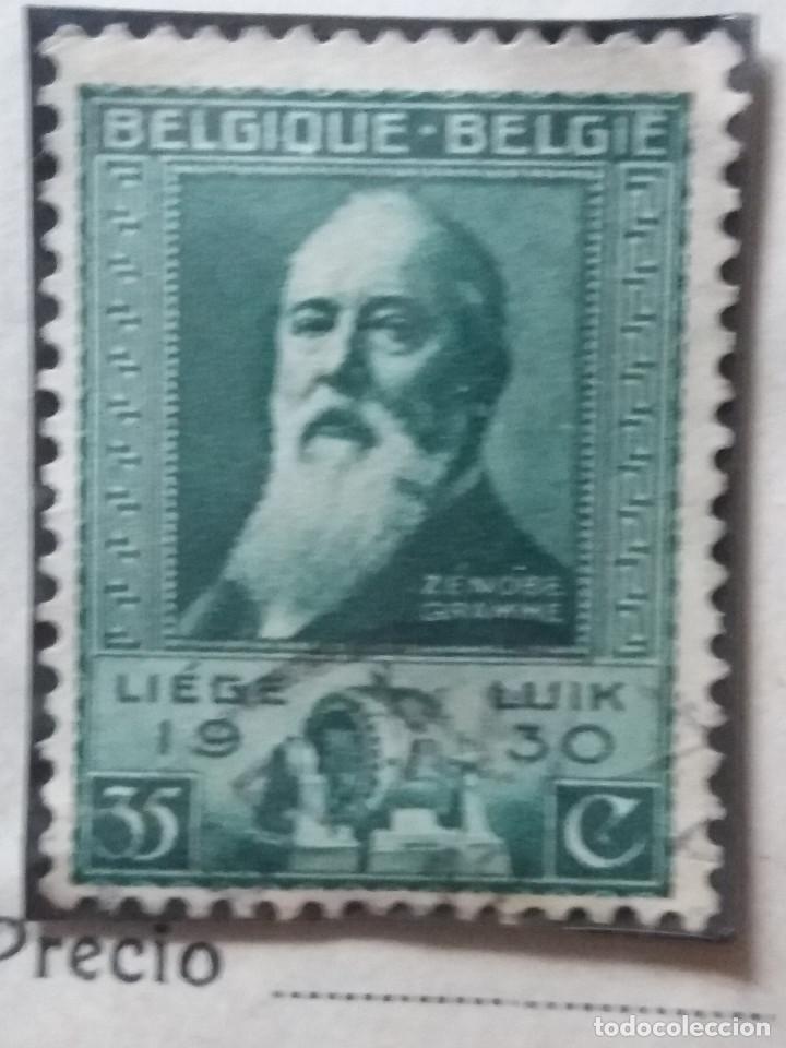 SELLO, POSTES BELGICA, 35 CENTIMES, AÑO 1930 NO USADO (Sellos - Extranjero - Europa - Bélgica)