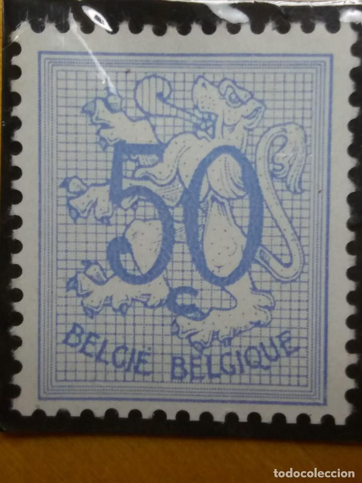 SELLO, POSTES BELGICA, 50 CENTIMES, AÑO 1950 NO USADO (Sellos - Extranjero - Europa - Bélgica)