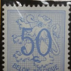 Sellos: SELLO, POSTES BELGICA, 50 CENTIMES, AÑO 1950 NO USADO. Lote 151531374