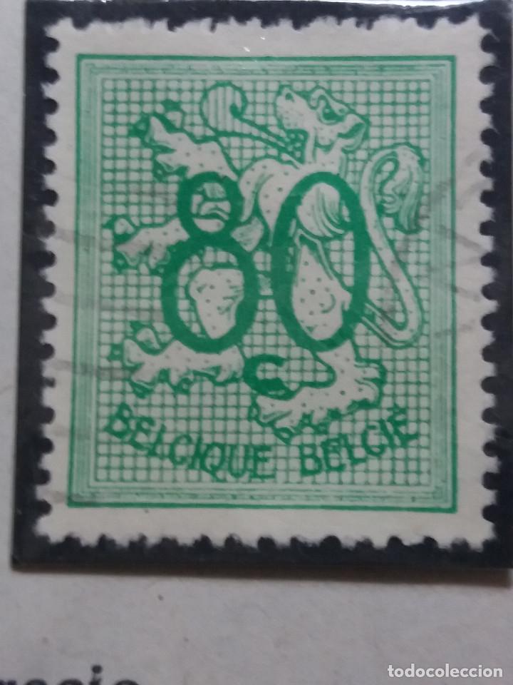 SELLO, POSTES BELGICA, 80 CENTIMES, AÑO 1951, NO USADO (Sellos - Extranjero - Europa - Bélgica)