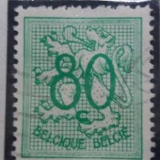 Sellos: SELLO, POSTES BELGICA, 80 CENTIMES, AÑO 1951, NO USADO. Lote 151533210