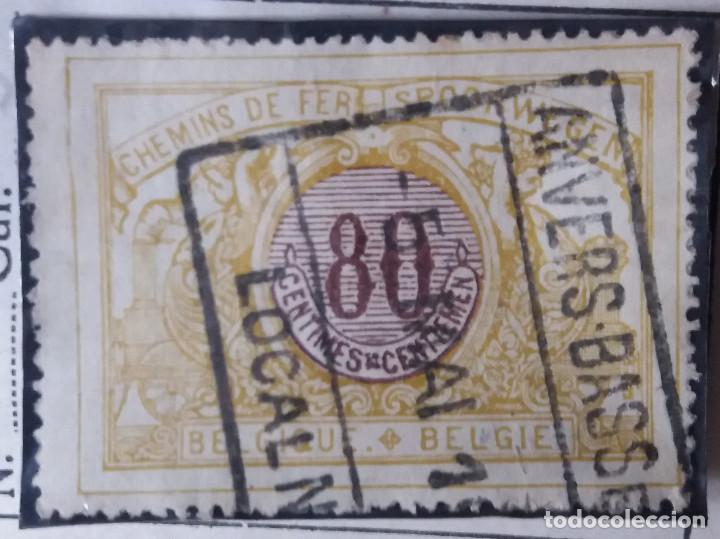 SELLO, POSTES BELGICA, 80 CENTIMES, AÑO 1910, NO USADO (Sellos - Extranjero - Europa - Bélgica)