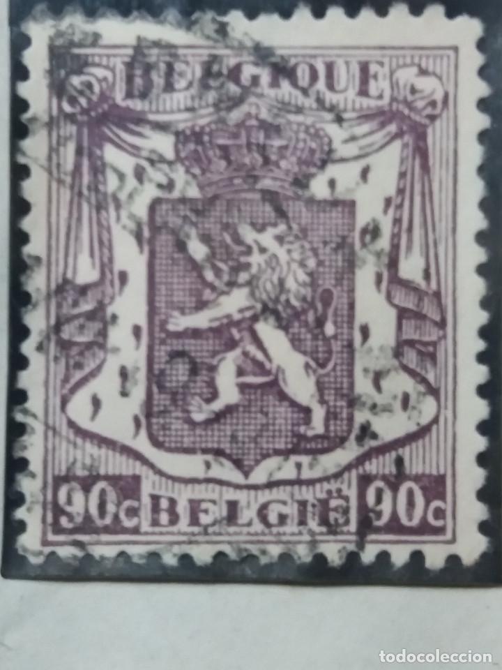 SELLO, POSTES BELGICA, 90 CENTIMES, AÑO 1946, NO USADO (Sellos - Extranjero - Europa - Bélgica)