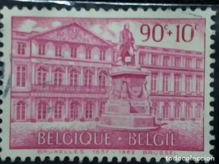SELLO, POSTES BELGICA, 90+10 CENTIMES, AÑO 1963, NO USADO (Sellos - Extranjero - Europa - Bélgica)