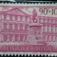 Sellos: SELLO, POSTES BELGICA, 90+10 CENTIMES, AÑO 1963, NO USADO. Lote 151533750